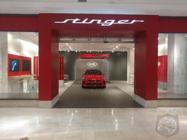 A Kia Stinger Salon Is Coming To A Mall Near You