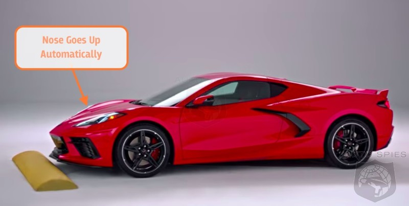 2020 Corvette Automatically Lifts The Front End For Speed Bumps