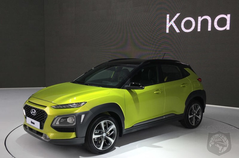 #IAA: Hyundai Commits To An Electric Kona And 2 More Small Crossovers