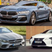 BMW 8 Series vs Mercedes S Class vs Lexus LC Who Gets Your 100K