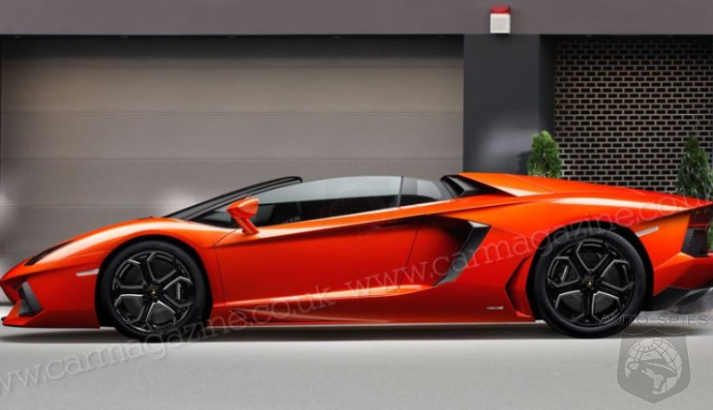 Lamborghini Plans Aventador Roadster And Four-Seat Aventador GT For Geneva