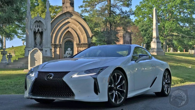 Lexus Ignores The Bean Counters With The $100,000 LC 500