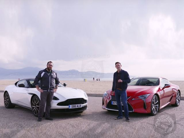 Video Showdown: Lexus LC 500 Vs. Aston Martin DB11 V8 - Which Is Overrated?