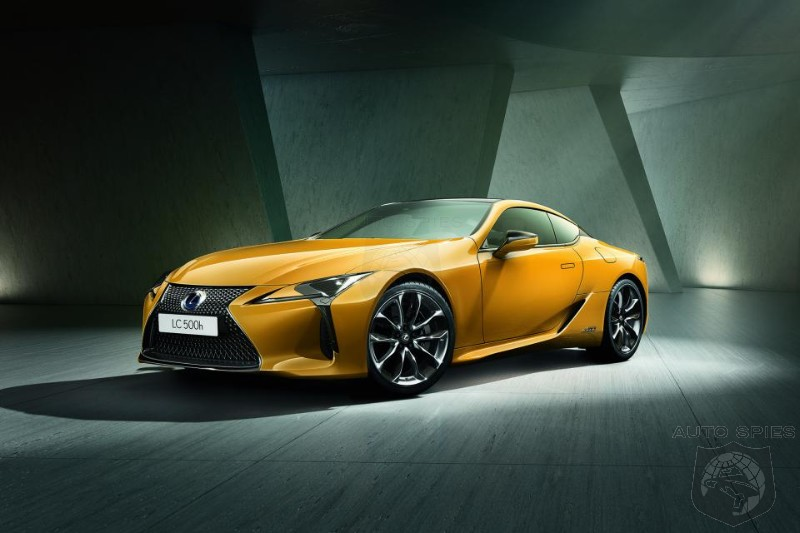 Lexus Reveals LC Limited Edition Ahead Of Paris Motor Show