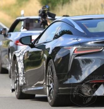 Rumored Lexus LC F Caught Testing In Germany
