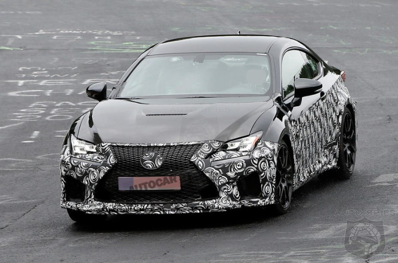 2018 Lexus RC F To Add More HP In Quest To Keep Up With M4 And RS5