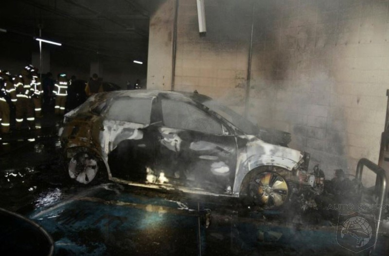 EV Vehicles With LG Battery Packs Appear To Be Going Up In Flames Worldwide