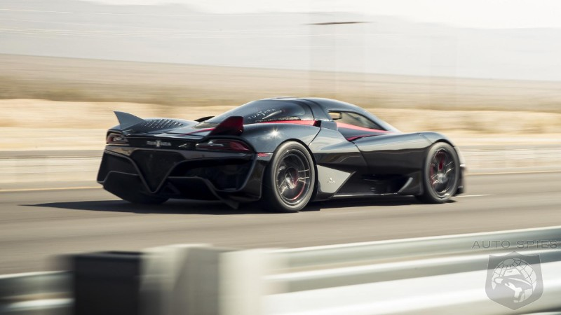 WATCH: SSC's Tuatara Officially Becomes The Fastest Production Car On The Planet At 331 MPH