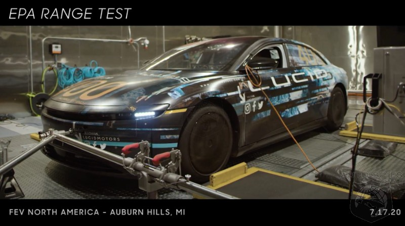 What Anxiety? Lucid Air EV Sedan To Have Over 500 Miles Of Range