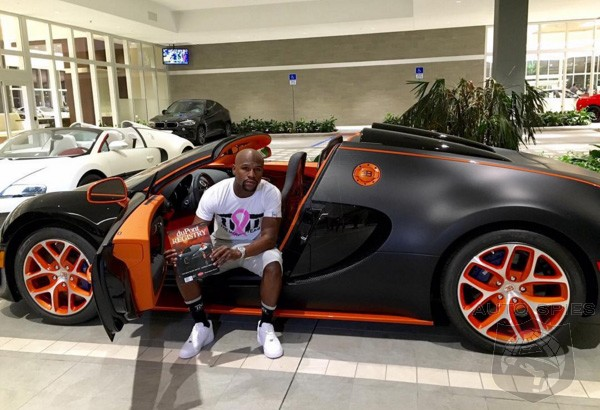 Floyd Mayweather Drops a Cool Fifty Grand On An Oil Change