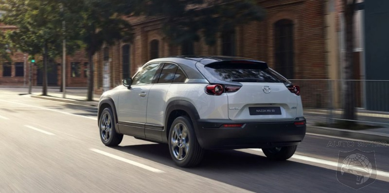 Mazda Announces MX-30 Electric Crossover For US Market