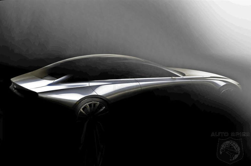 Mazda Teases New 3 And Swoopy 4 Door Sports Car Before Tokyo Debut