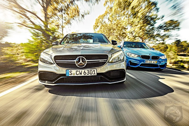 Mercedes Just Days Away From Shutting Out BMW In US Sales Race