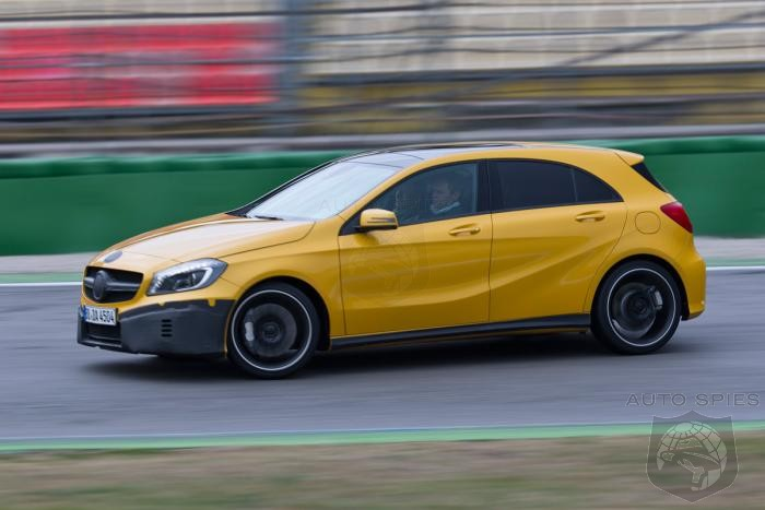 Mercedes-Benz Turbocharged AWD A45 AMG To Outgun Both The M135i And The RS3
