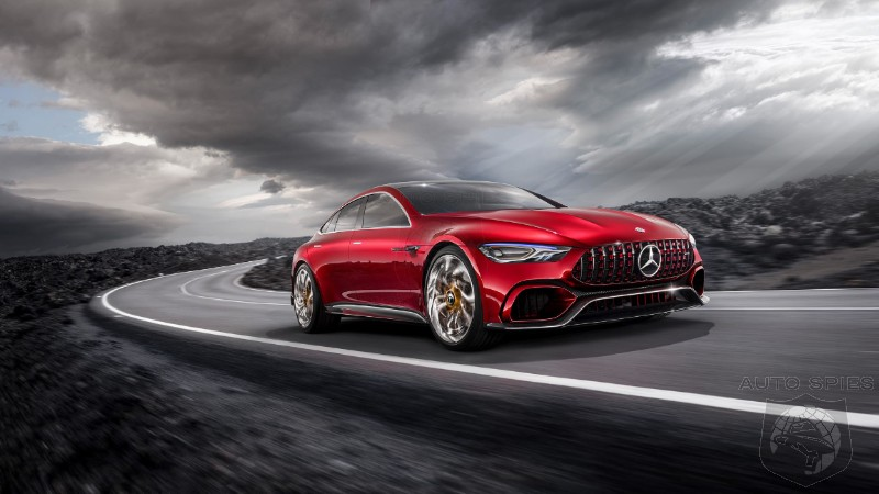 Horsepower War Goes Crazy As Mercedes Preps 805 HP AMG Hybrid V8 Powerplant