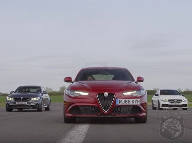 0 To 150 MPH: Giulia QV, vs AMG C63 S, vs BMW M3 Comp Pack - Care To Guess Who Finished 3rd?