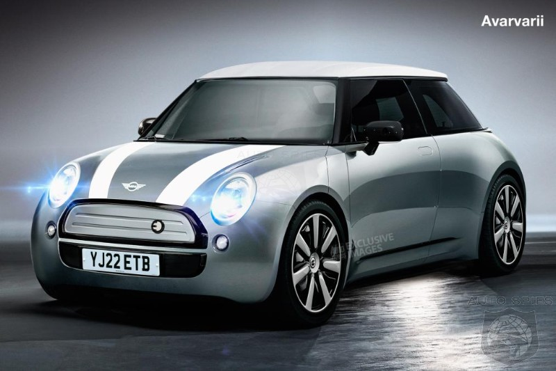 Next Gen MINI To Shrink In Size And Be All EV