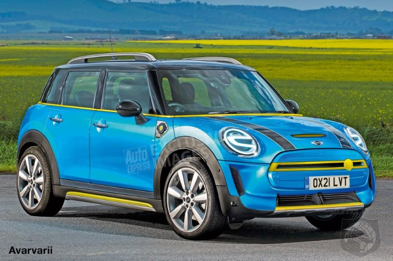 MINI Developing A Smaller Sister SUV For 2021