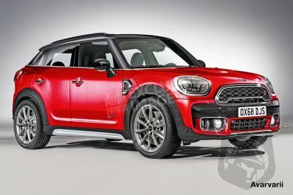 MINI To Replace Paceman With Countryman Coupe?