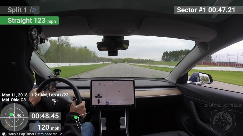 Video Gives Impression That Track Day With The Tesla Model 3 Is A Mixed Bag Of Good And Bad