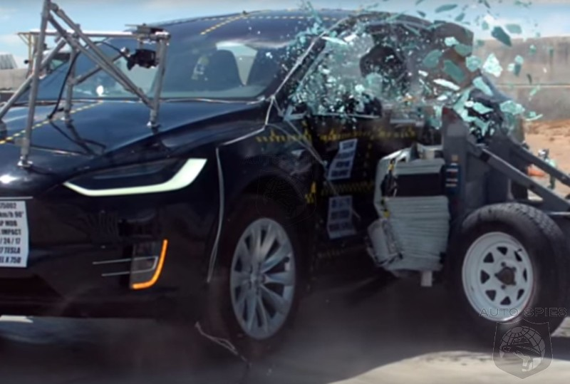 Tesla Schools The Industry On How To Make A Crashworthy Crossover