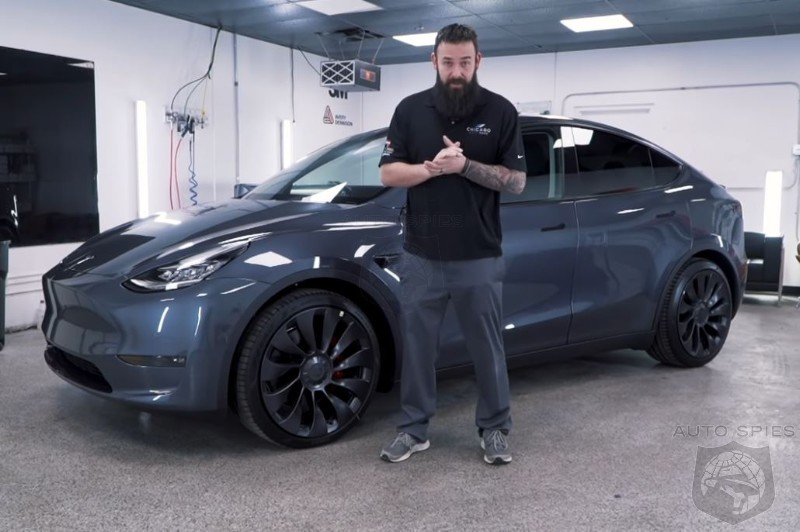 Paint Issues Already Surfacing On New Tesla Model Y Deliveries - How Is This Acceptable?