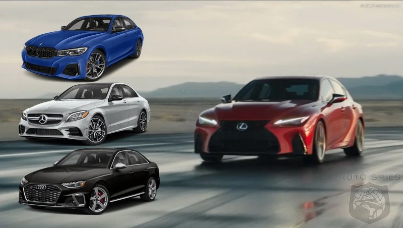 Lexus IS 500 Vs The Germans - On Paper It Should Mop Up But Why Doesn't It?