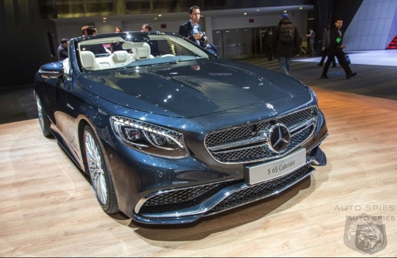 Mercedes Puts Aside The Detroit Auto Show In 2019 - Has Better Options