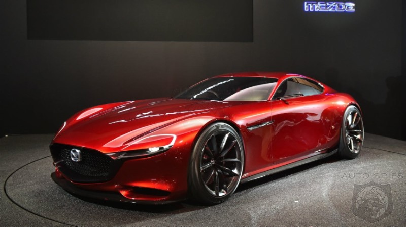 RUMOR MILL: Mazda Could Debut New RX Sports Coupe As Early As Next Week