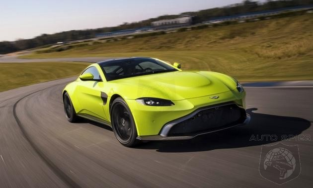 You Digging It? Aston Martin's Vantage Gets A Makeover To Attract Younger Buyers