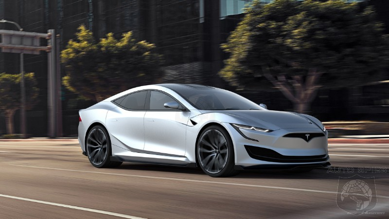 If The Next Gen Tesla Model S Looked Like THIS, Would You Crack Open Your Wallet For One?