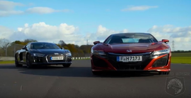 New School Vs Old School: Honda NSX Vs Audi R8 V10 Which Is The Better Supercar?