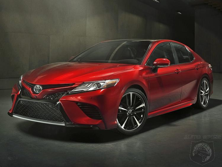 What? Toyota Believes The 2018 Camry Can Save the Mid-Sized Sedan Market