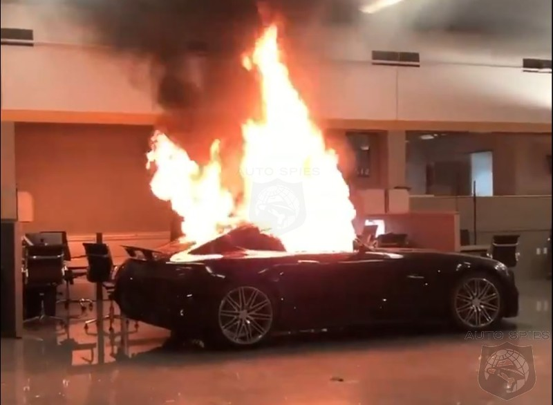 WATCH: Protesters Torch Oakland Mercedes Dealership To End ...