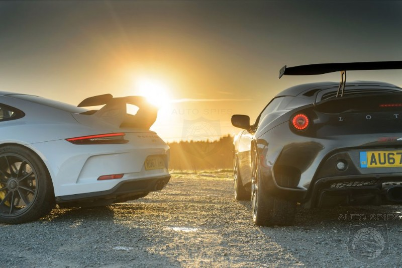 Porsche 911 GT3 vs Lotus Evora GT430 - Can The Tiny Brit Knock The German Brute From It's Perch?