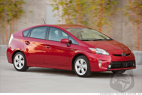 Has California Given Up On The Car Culture? Prius Top Selling Car So Far In 2012