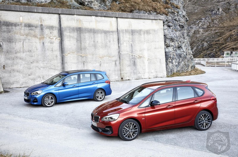 BMW Updates 2-Series MPVs For 2018 - Is There A Market In The US For A BMW Minivan?