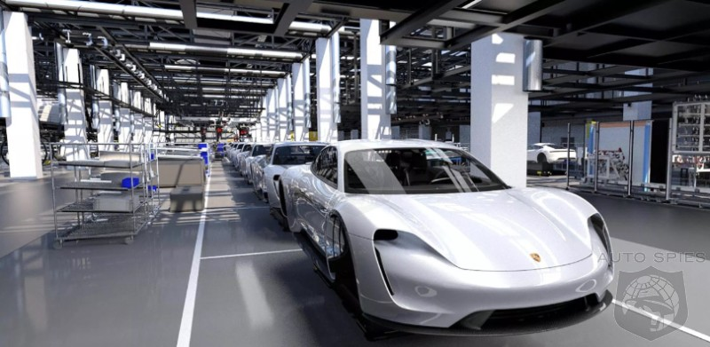 Porsche Still Claims 20,000 Taycans A Year But Is Secretly Ramping Up Production For 40,000