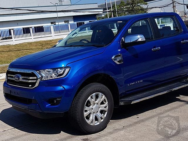 CAUGHT Testing In Asia: Could This Be The New Ford Ranger?