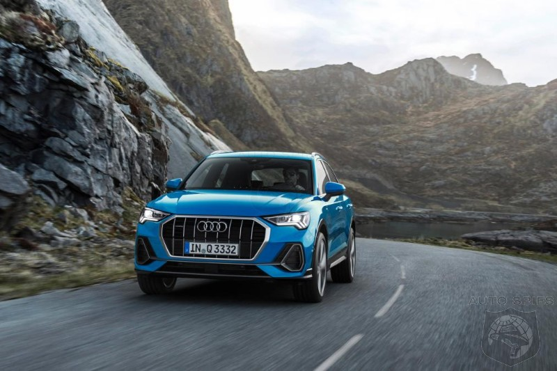 Audi Next Gen Q3 Images Leak Online - Can It Take Down The X1 And GLA?