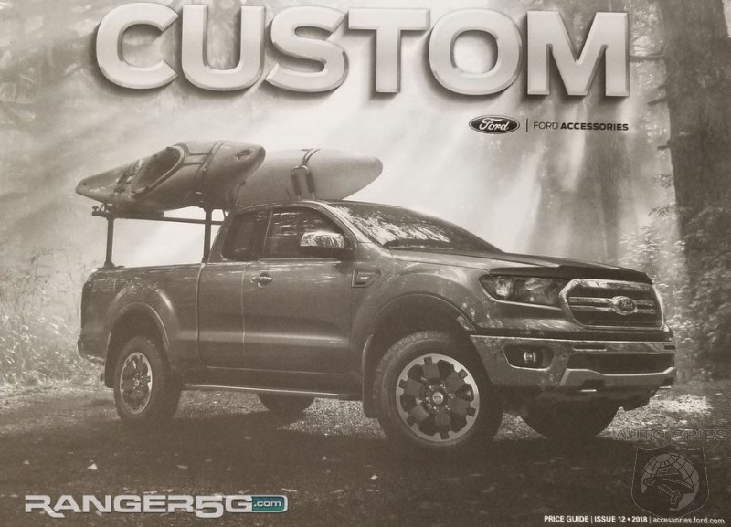 Gear It Up! 2019 Ford Ranger Accessory Guide Leaked Ahead Of Release