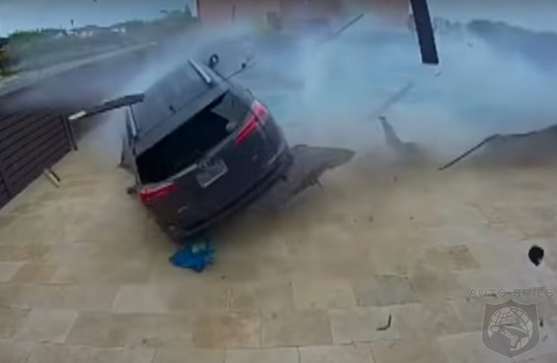 WATCH: Florida RAV4 Driver Tries To Have A Pool Party