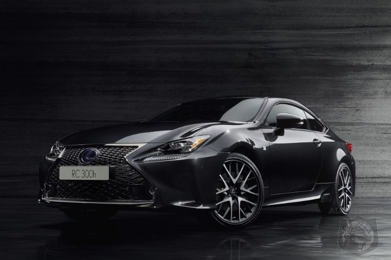 #GIMS: Lexus RC300h F Sport Black Edition Breaks Cover - Will It Get You Off The Couch And Down To The Dealer?