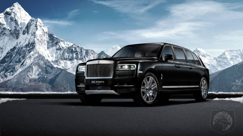 Because Bigger Is Better: Rolls Royce Cullinan Gets Stretched Into A $2 Million Limo