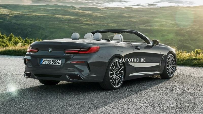 FIRST LOOK: 2019 BMW 8 Series Convertible Leaks Out