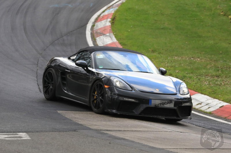 Porsche Developing A More Driver Focused Boxster Spyder Using 911 GT3 Flat Six