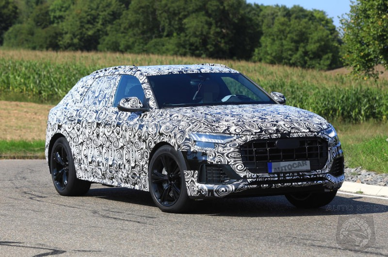 Range Topping SQ8 To Be A 469HP Super-Hybrid Performance SUV
