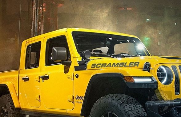 If The New Jeep Scrambler Looks Like THIS Would You Trade In That F-150 In The Driveway?