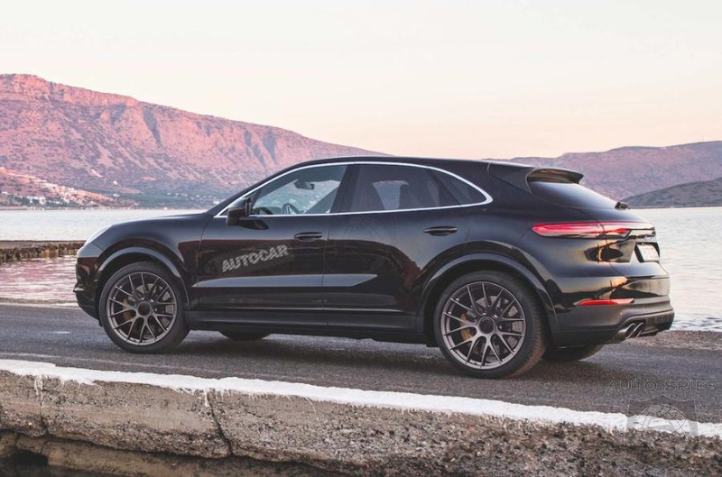 Porsche Green Lights Cayenne Coupe To Challenge X6 and GLE Coupe'
