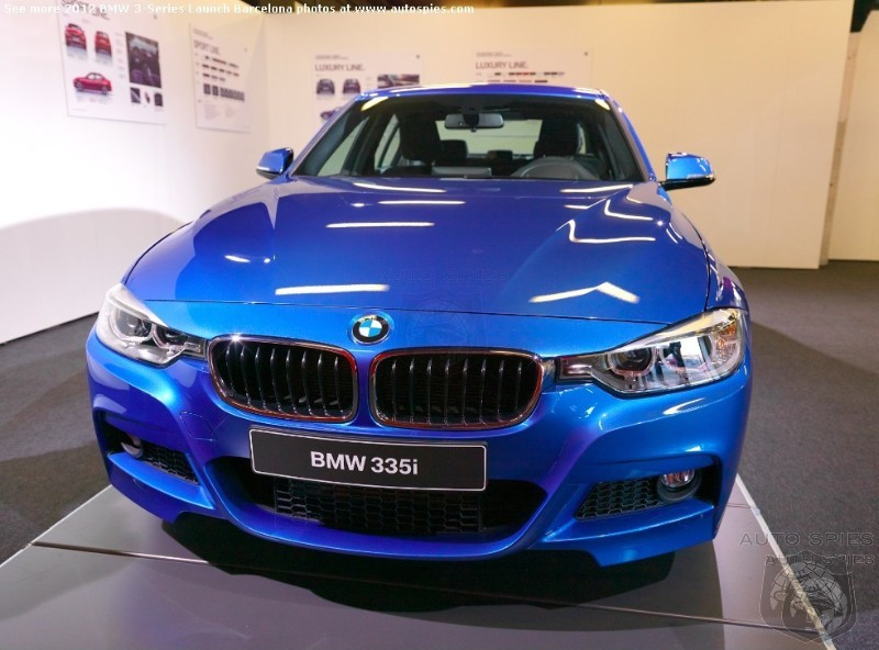 The First Real World Shots Of Bmw S Stunning 335 M Sport